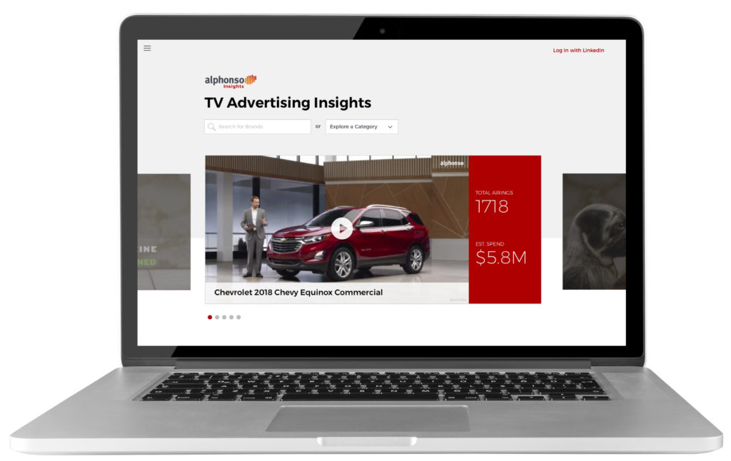 Alphonso Insights for TV ad analytics and TV campaign measurement